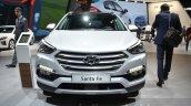 2016 Hyundai Santa Fe (facelift) front at 2016 Geneva Motor Show