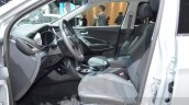 2016 Hyundai Santa Fe (facelift) front seats at 2016 Geneva Motor Show