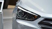 2016 Hyundai Santa Fe (facelift) headlamp at 2016 Geneva Motor Show