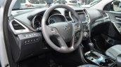 2016 Hyundai Santa Fe (facelift) interior at 2016 Geneva Motor Show