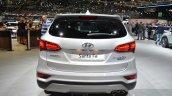 2016 Hyundai Santa Fe (facelift) rear at 2016 Geneva Motor Show