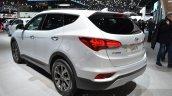 2016 Hyundai Santa Fe (facelift) rear quarter at 2016 Geneva Motor Show