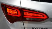 2016 Hyundai Santa Fe (facelift) tail lamp at 2016 Geneva Motor Show