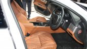 2016 Jaguar XF front cabin at the Auto Expo 2016