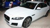 2016 Jaguar XF front three quarter at the Auto Expo 2016