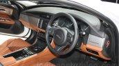 2016 Jaguar XF interior at the Auto Expo 2016