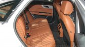 2016 Jaguar XF rear cabin at the Auto Expo 2016