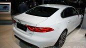 2016 Jaguar XF rear quarter at the Auto Expo 2016