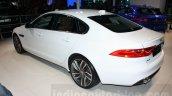 2016 Jaguar XF rear three quarter at the Auto Expo 2016