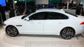 2016 Jaguar XF side at the Auto Expo 2016