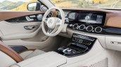 2016 Mercedes E-Class E 220 d interior scheme