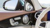 2016 Mercedes E-Class E 350 e interior door panel elements