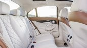2016 Mercedes E-Class E 350 e interior rear seats
