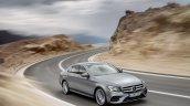 2016 Mercedes E-Class E 400 4MATIC front three quarters selenit grey magno