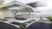 2016 Mercedes E-Class E 400 4MATIC parked selenit grey magno
