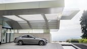 2016 Mercedes E-Class E 400 4MATIC right side parked selenit grey magno