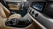 2016 Mercedes E Class dashboard leaked