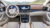 2016 Mercedes E Class interior leaked