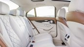 2016 Mercedes E Class rear seat leaked