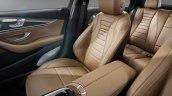 2016 Mercedes E Class seats leaked