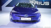 2016 Toyota Prius front at Auto Expo 2016