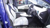 2016 Toyota Prius front seats at Auto Expo 2016