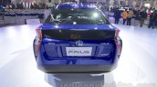 2016 Toyota Prius rear at Auto Expo 2016