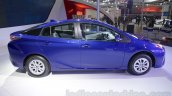 2016 Toyota Prius side profile at Auto Expo 2016