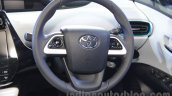 2016 Toyota Prius steering at Auto Expo 2016