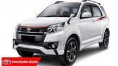 2016 Toyota Rush (facelift) TRD Sportivo Ultimo front quarter