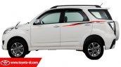 2016 Toyota Rush (facelift) TRD Sportivo Ultimo side