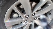 2017 Buick Encore (facelift) alloy wheel spy shot