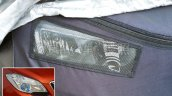 2017 Buick Encore (facelift) headlight spy shot