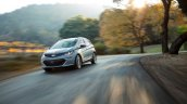 2017 Chevrolet Bolt front three quarters in motion