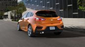 2017 Chevrolet Cruze Hatchback rear three quarters in motion