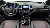 2017 Honda Ridgeline black interior dashboard