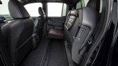 2017 Honda Ridgeline black rear seats folded
