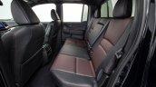 2017 Honda Ridgeline black rear seats
