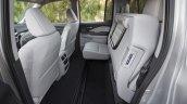 2017 Honda Ridgeline rear seat folding