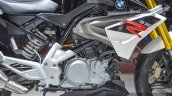 BMW G310R engine at Auto Expo 2016