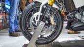 BMW G310R front wheel disc brake at Auto Expo 2016