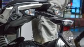 BMW G310R numberplate hanger at Auto Expo 2016