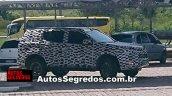 Chevrolet Trailblazer facelift side spotted testing