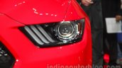 Ford Mustang headlamp Indian debut