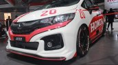 Honda Jazz Racing Concept front quarter close at the Auto Expo 2016