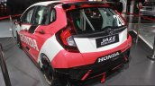 Honda Jazz Racing Concept rear quarter left at the Auto Expo 2016