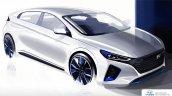 Hyundai Ioniq exterior rendering