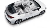 Hyundai Ioniq hybrid airbags