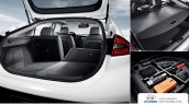 Hyundai Ioniq hybrid boot space