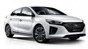 Hyundai Ioniq hybrid front three quarters right side